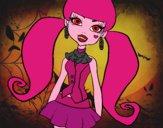 Disegno Monster High Draculaura pitturato su Alessia02