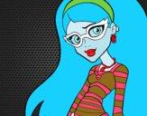 Disegno Monster High Ghoulia Yelps pitturato su Alessia02