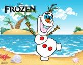 Frozen Olaf che balla