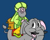 Baldassarre a elefante