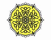 Mandala simmetrica