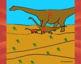 Famiglia di Brachiosauri