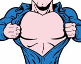 Petto di Supereroe