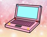 Disegno Computer portatile pitturato su bb10