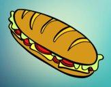 Sandwich completa