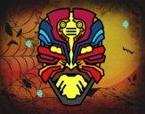 Maschera robot alien