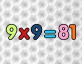 9 x 9