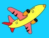 Aereo prendere il volo