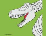Scheletro di Tyrannosaurus rex