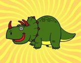 Dinosauro Triceratopo