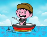 Bambino pesca