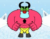 Demonio muscoloso