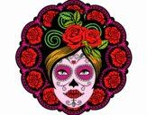 Teschio messicanocon femminile