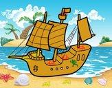 Barca giocattolo