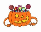 Dolci di zucca di Halloween