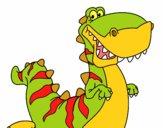 Tirannosauro felice