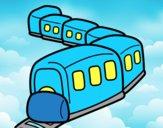 Treno sulla strada