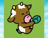 Bebè mucca