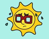 Sole con sudore