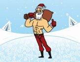 Babbo Natale forte