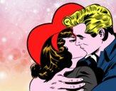 Coppia che si baciano