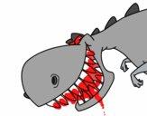 Dinosauro dai denti affilati