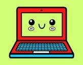 Un computer portatile