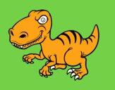 Dinosauro velociraptor