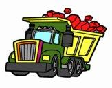 Disegno Camion carico pitturato su alessiacom