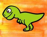 Giovane Tirannosauro rex