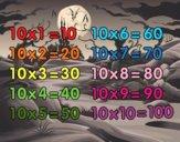La Tavola di Moltiplicazione del 10