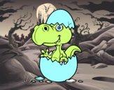 Dino emergenti da uovo