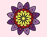 Mandala con petali