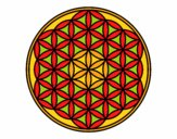 Mandala fiore di vita
