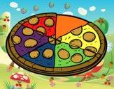 Pizza da pepperoni
