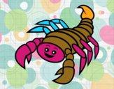 Scorpione felice