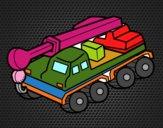 Camion gru