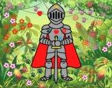 Cavaliere con cappa