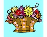 Paniere di fiori 7