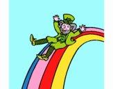 Folletto nell'arcobaleno