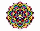 Mandala petali di fiori