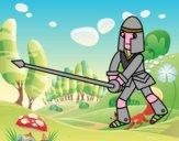 Cavaliere con lancia