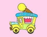 Food truck dei gelati