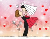 Si può baciare ala sposa