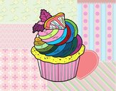 Cupcake limone