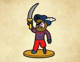 Pirata giocattolo