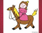Principessa a cavallo