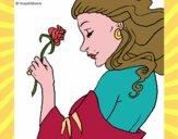 Principessa con una rosa