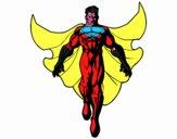 Un Supereroe in volo