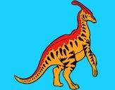 Parasaurolophus a strisce